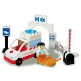 Jucarie de construit A-Haberkorn Unico Ambulance 19 piese