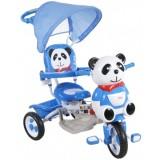 Tricicleta cu copertina Arti Panda 2 albastru