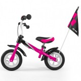 Bicicleta fara pedale Milly Mally Dragon Deluxe pink