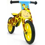 Bicicleta fara pedale Milly Mally Duplo giraffe