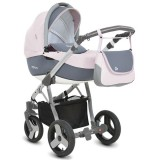 Carucior MyKids Mommy 3 in 1 roz