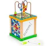 Cub educational Ecotoys HM015473 cu tabla