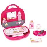 Gentuta pentru ingrijire papusi Smoby Baby Nurse roz