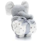 Set Fillikid Patura cu jucarie elephant 24 cm