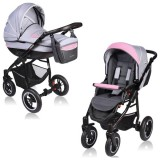 Carucior Vessanti Crooner 2 in 1 pink gray