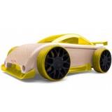 Masinuta din lemn Automoblox Mini C9-R masina sport
