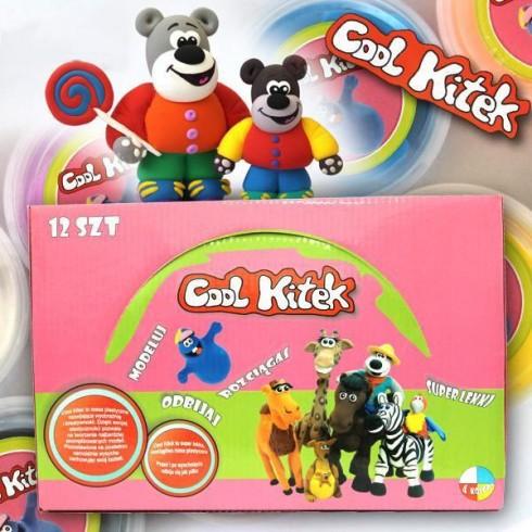 Plastelina Sellmar Cool Kitek Display 12 buc