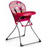 Scaun de masa Hauck Mac Baby Minnie Geo pink