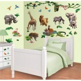 Kit decor Walltastic Jungle Adventure