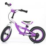 Bicicleta fara pedale Milly Mally Hero violet