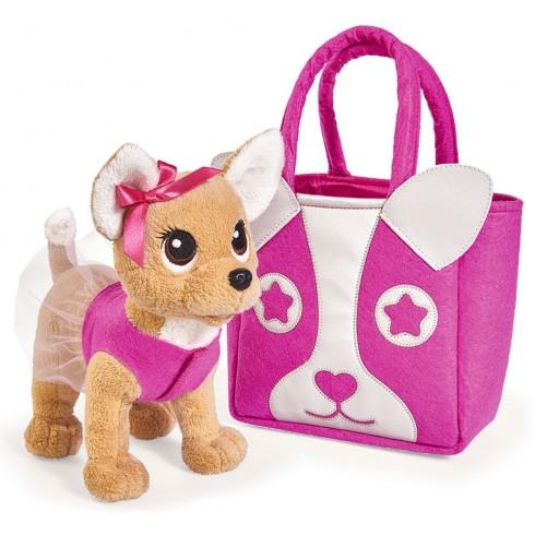Jucarie de plus Simba Catel Chi Chi Love Puppy 20 cm cu geanta {WWWWWproduct_manufacturerWWWWW}ZZZZZ]