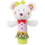 Jucarie muzicala Brevi Soft Toys 070149 Popice Soricelul Fluo