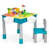Masuta de joaca Ecotoys HC464898 cu scaun