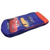 Sac de dormit Fun House Cars 3 cu saltea gonflabila