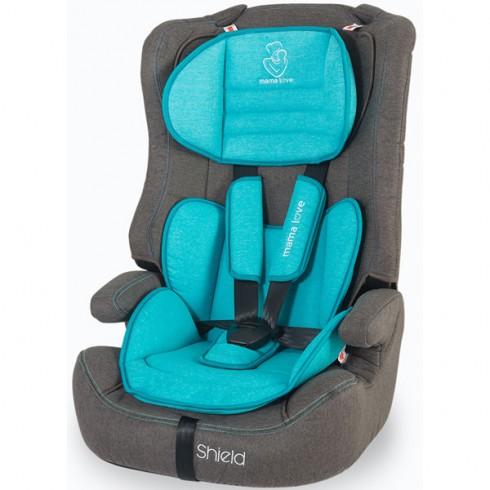 Scaun auto Mama Love Shield albastru
