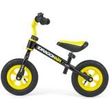 Bicicleta fara pedale Milly Mally Dragon Air black