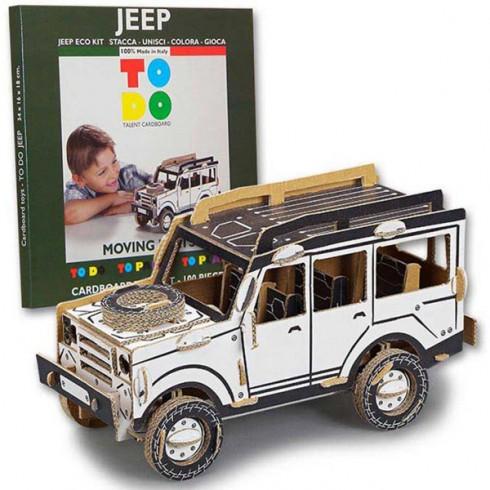 Joc creativ Todo 3D Jeep