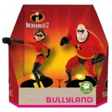 Set 2 figurine Bullyland Incredibilii 2