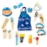 Set muzical Ecotoys MK0700401 cu 16 instrumente