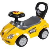 Masinuta de impins Sun Baby Mega car yellow