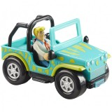 Set Scooby Doo Monster Safari Jeep si figurina Fred