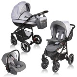 Carucior Vessanti Crooner 3 in 1 gray