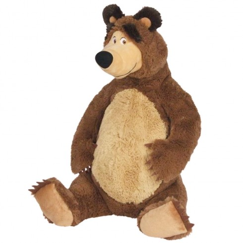 Jucarie de plus Simba Masha and the Bear, Bean Bag Bear sezand 25 cm {WWWWWproduct_manufacturerWWWWW}ZZZZZ]