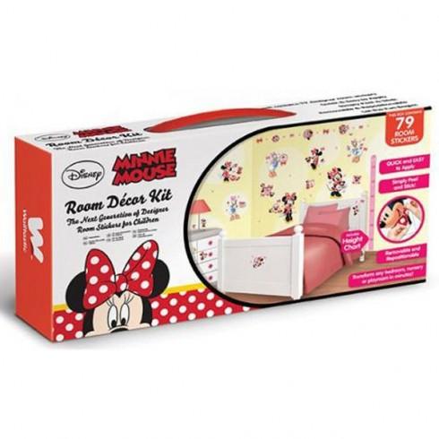 Kit decor Walltastic Minnie Mouse Clubhouse