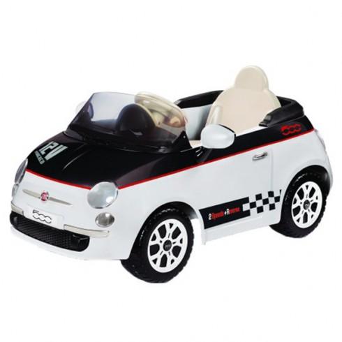 Masinuta Peg Perego Fiat 500 12V white & black