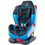 Scaun auto Caretero Sport Turbofix cu sistem Isofix blue