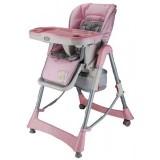 Scaun de masa BabyGo Tower Maxi pink