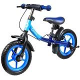Bicicleta fara pedale Lionelo Dan Plus blue chameleon