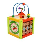 Cub din lemn Baby Mix Activity