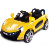 Masinuta electrica Toyz Aero 2x6V cu telecomanda Yellow