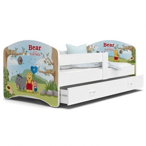 Patut MyKids Lucky 55 Bear and Friends 140x80