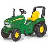 Tractor cu pedale Rolly Toys 035632 verde