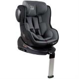 Scaun auto BabyGo Iso rotativ 360 cu Isofix grey