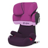 Scaun auto Cybex Solution X2 Fix purple rain cu Isofix