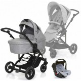 Carucior Circle ABC Design Como Travel 4 3 in 1 grey
