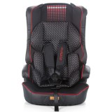 Scaun auto Chipolino Domino red black