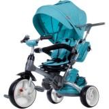 Tricicleta reversibila Sun Baby 007 Little Tiger melange turquoise