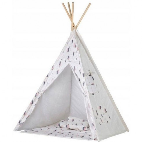 Cort de indieni Ecotoys TIPI-01 Christmas Tree