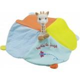 Inel gingival cu batistuta Vulli girafa Sophie Soft'rubber