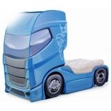 Patut camion MyKids Duo Scania+1 albastru