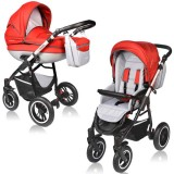 Carucior Vessanti Crooner Prestige 2 in 1 red