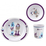 Set pentru luat masa Thermobaby Little Monster