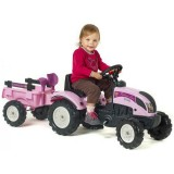 Tractor Falk Princess cu Remorca