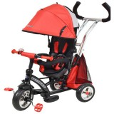 Tricicleta cu copertina Baby Mix Sunrise Turbo Trike red