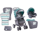 Carucior Bertoni - Lorelli Foxy green Elephants 2 in 1 2016