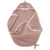 Sac de dormit Wallaboo Coco Fun shark taupe